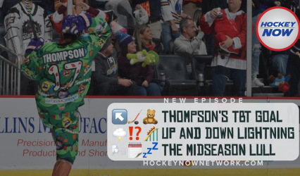 Thompson's Teddy Bear Toss Goal and the Mid-season Lull