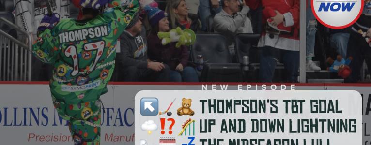 Thompson's Teddy Bear Toss Goal and the Mid-season Lull